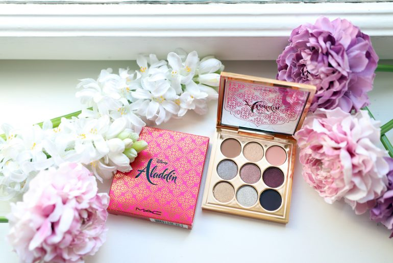 M·A·C LE Aladdin – Princess Jasmine Eye Shadow Swatches