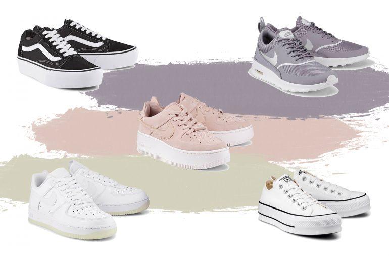 Top 5 Sneaker für deinen nächsten City Trip