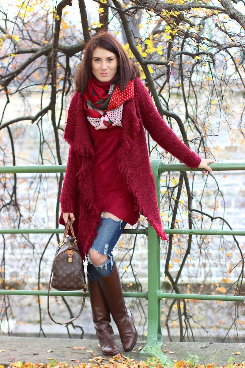 modisch-winter-outfit-rot-wolle-louis-vuitton-hugo-boss-2