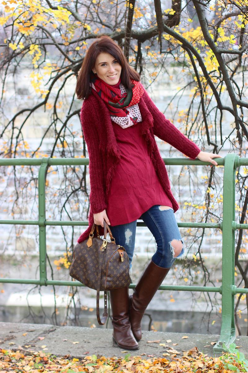 modisch-winter-outfit-rot-wolle-louis-vuitton-hugo-boss-6
