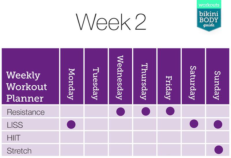 Weekly Exercise Timetable-2 Kopie